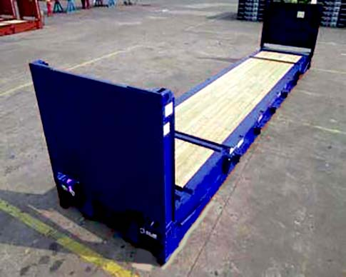 40ft flat rack container for sale uk