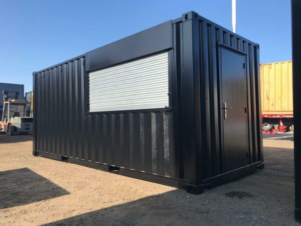 roller shutter doors customised container for sale