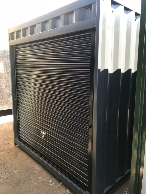 roller shutter doors modified containers for sale