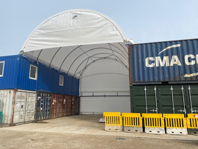 20ft container workshops