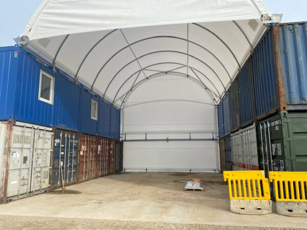 20ft side opening container offices uk