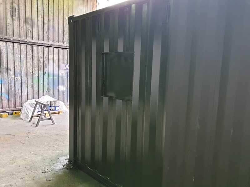 custom container coffee shop in bristol