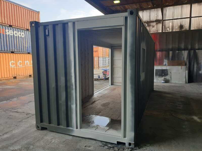 custom 20ft shipping container coffee shop bristol