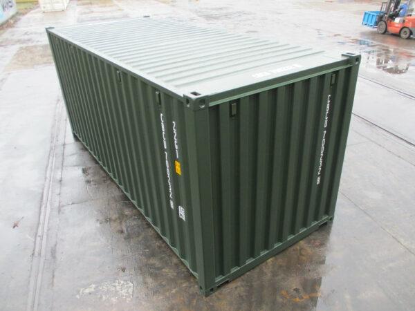 20ft storage container staffordshire self-storage site