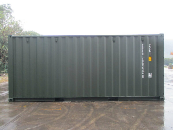 20ft storage container for self-storage site staffordshire