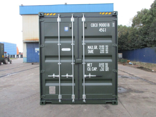 20ft shipping container staffordshire with grafotherm