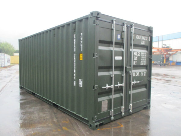 condensation treated 20ft storage container staffordshire