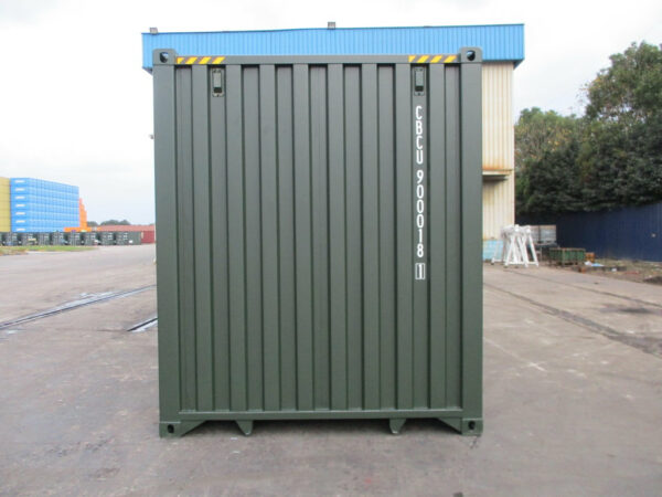 self-storage site with 20ft storage container staffordshire