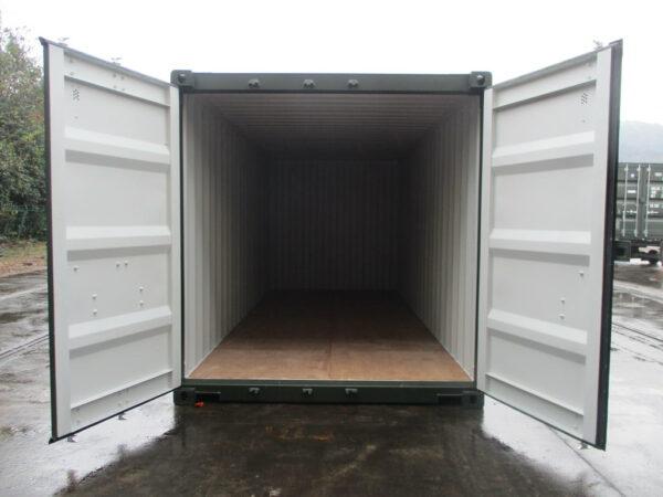 Double door 20ft storage container staffordshire