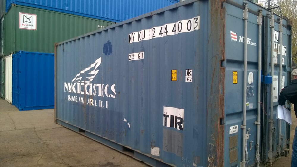 20ft used container for sale glasgow