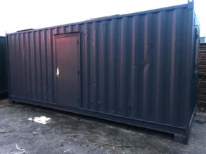 21ft x 9ft used portable office cabin for sale accommodation unit