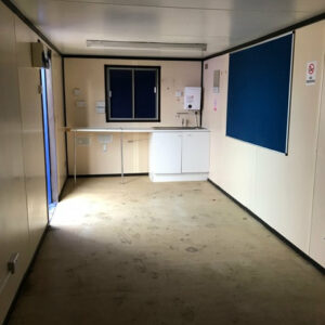 32ft open plan container office west midlands