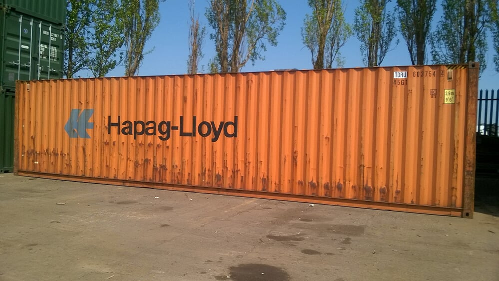 40ft used container for sale leeds