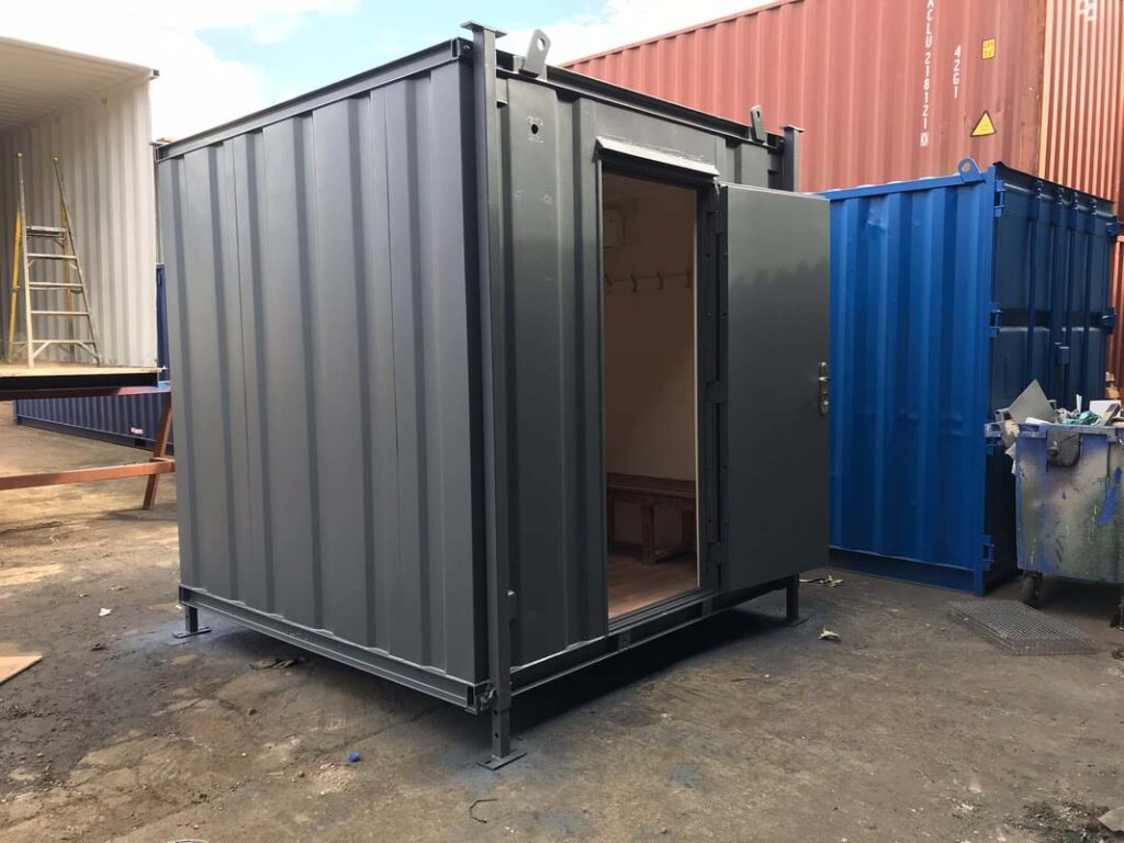 8x8 container drying room uk