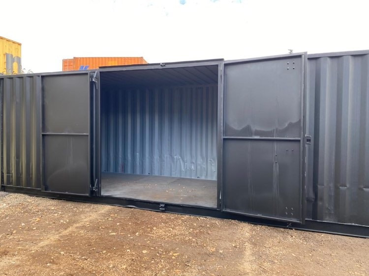 Custom 30ft Shipping Container Modified Newport Powys Wales