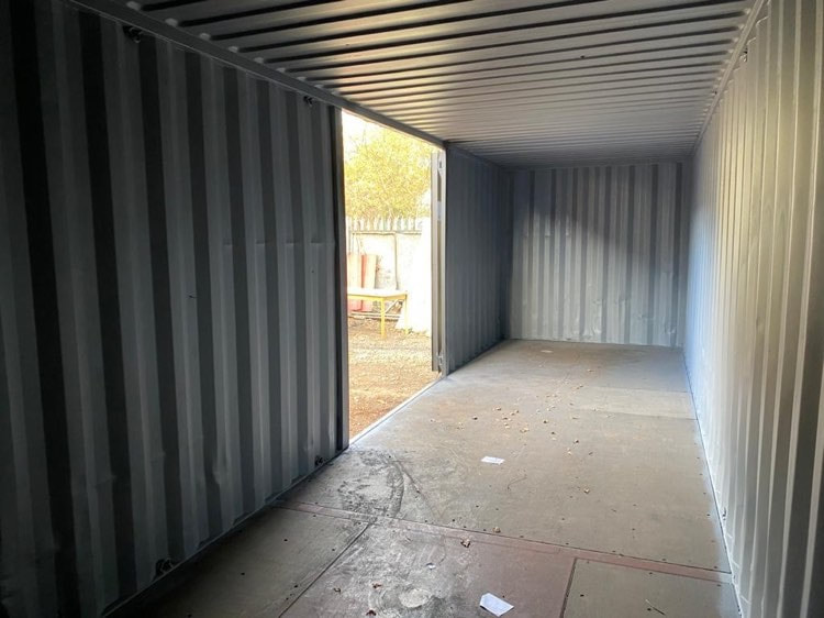 Customised 30ft Shipping Container Modified Newport Powys