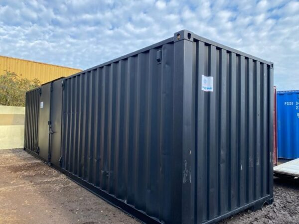 Modified and Cut Down 30ft Container Newport Powys UK