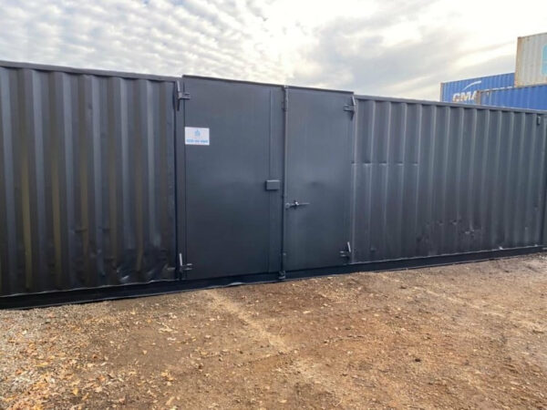 Bespoke used 30ft Shipping Container delivered to Newport Powys
