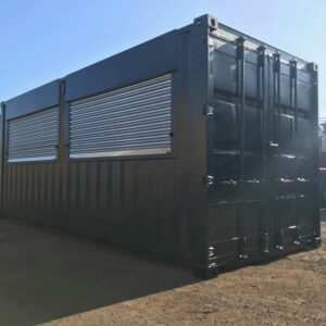 Customised Container with Roller Shutter