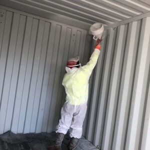 GrafoTherm for storage containers