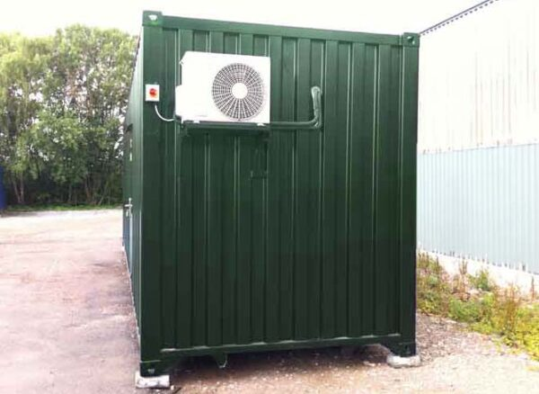 air conditioning shipping containers uk