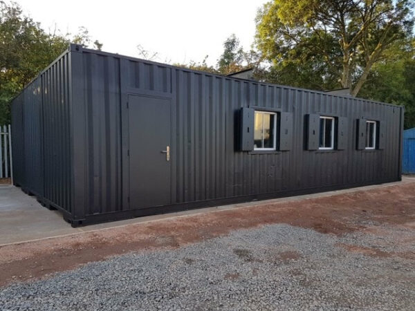 bespoke container workshop for sale