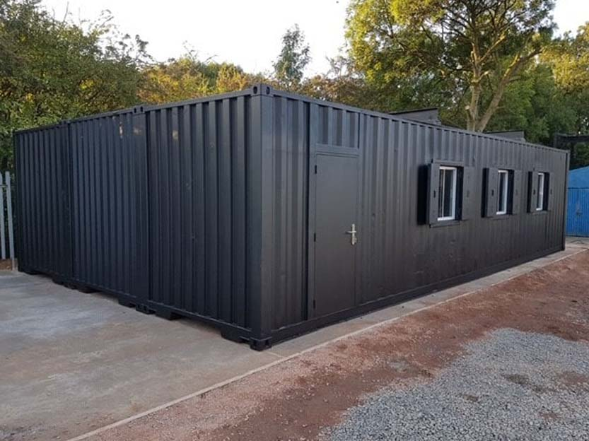container conversion workshop for sale uk
