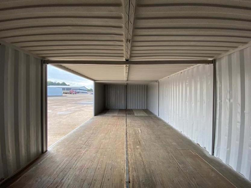container double workshop conversion inside for sale