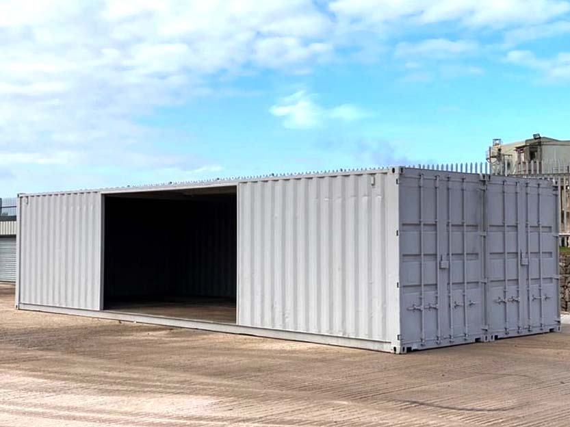 container double workshop conversion purchase online UK delivery