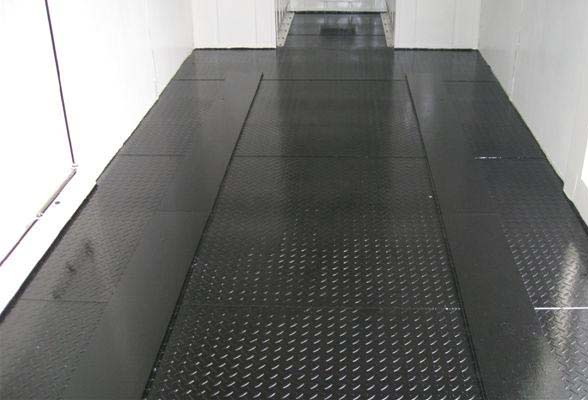 container office flooring options