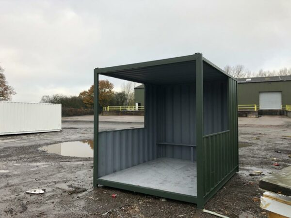 converted shipping container gatehouses for sale