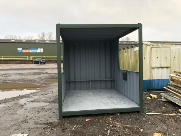 converted storage container gatehouses for sale