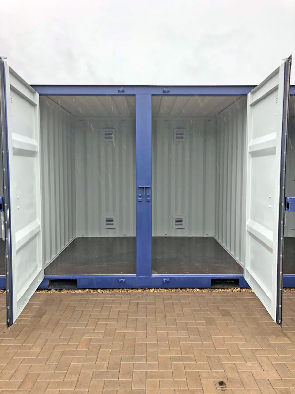 custom size shipping container modification for sale