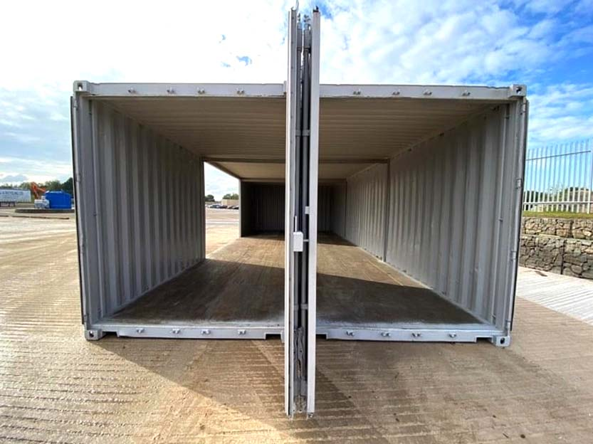 double container workshop conversion for sale