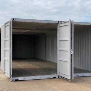 double container workshop for sale