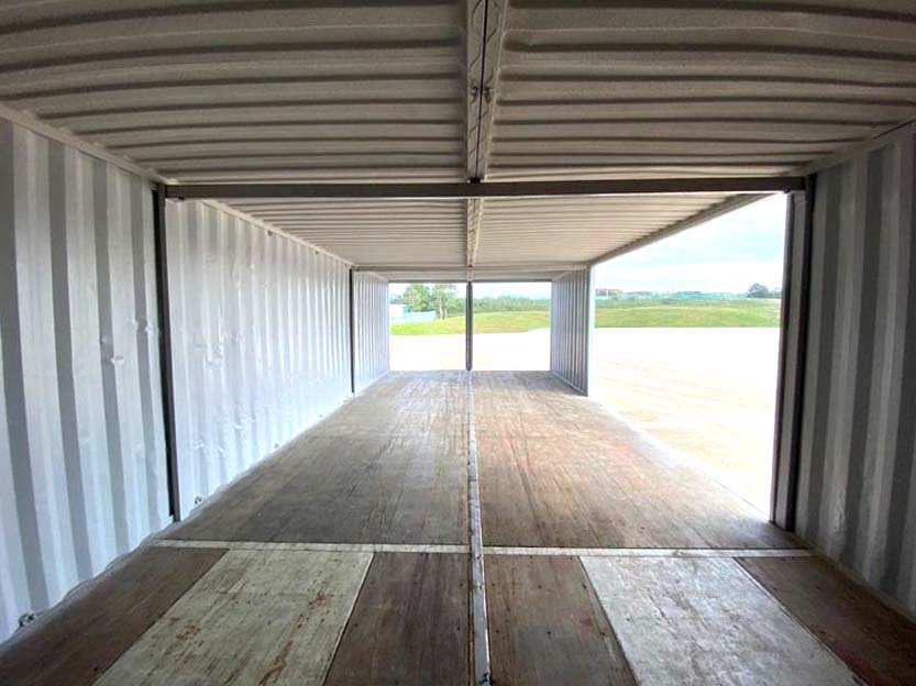 double workshop shipping container conversion for sale