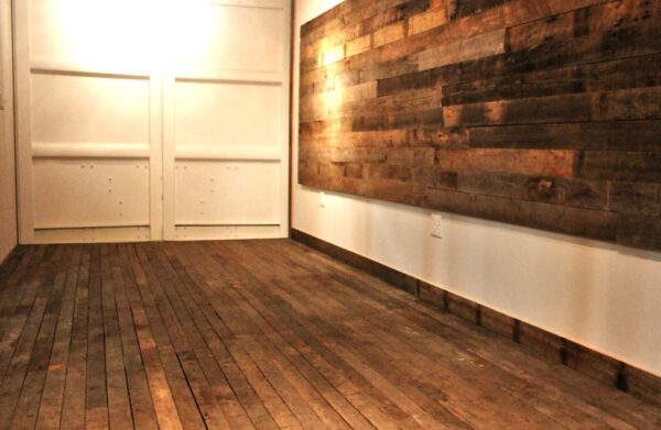 flooring for shipping container modification