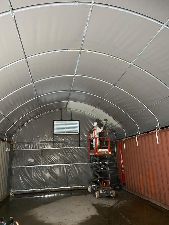 grafotherm treatment for shipping containers derbyshire