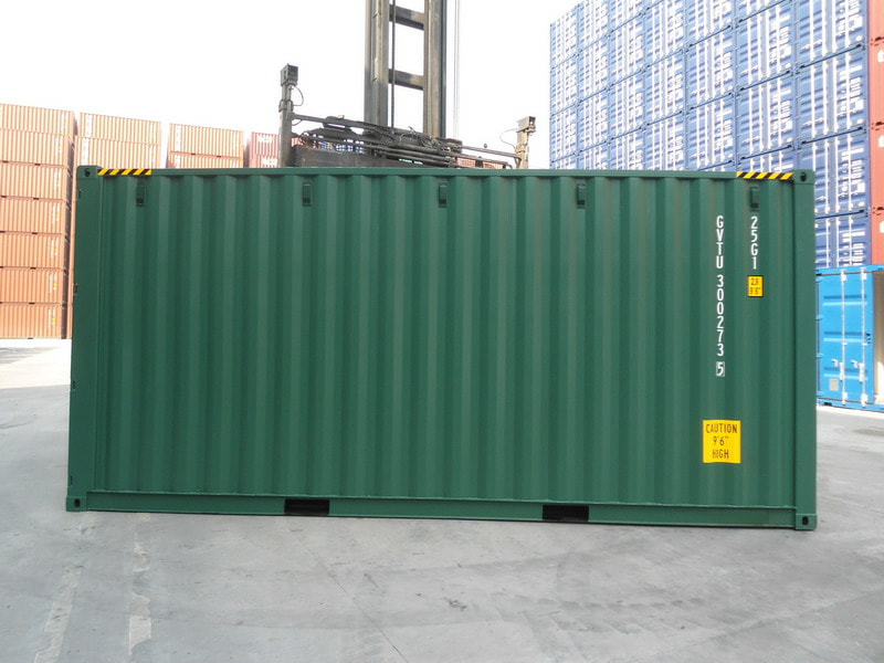 high cube double door container manchester
