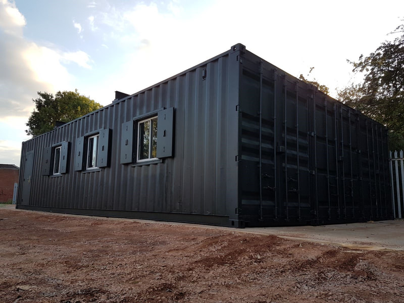 modified container workshop for sale