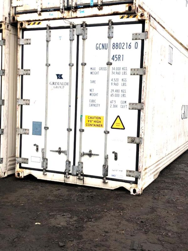new 40ft Refrigerated High Cube containers for sale UK