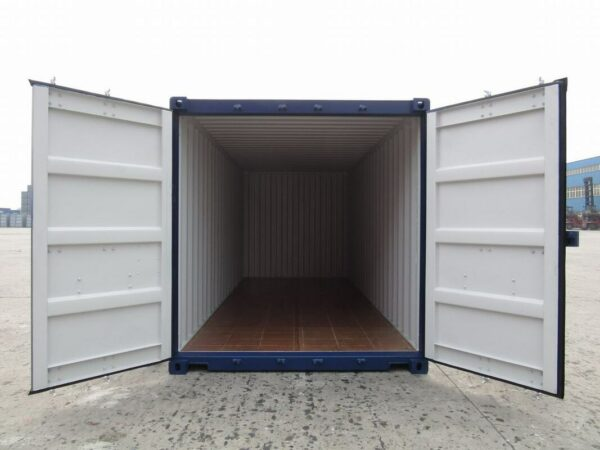 new shipping container manchester with double doors for sale