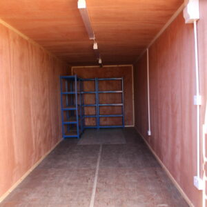 ply lining for shipping container modification