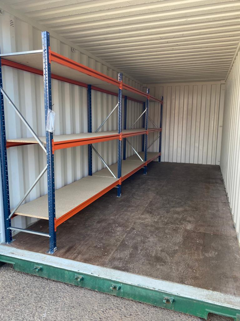 shipping container Shelving uk