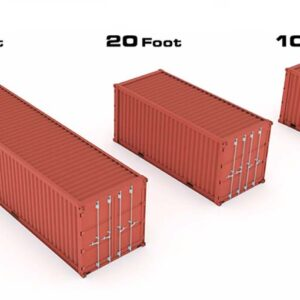 shipping container dimensions uk