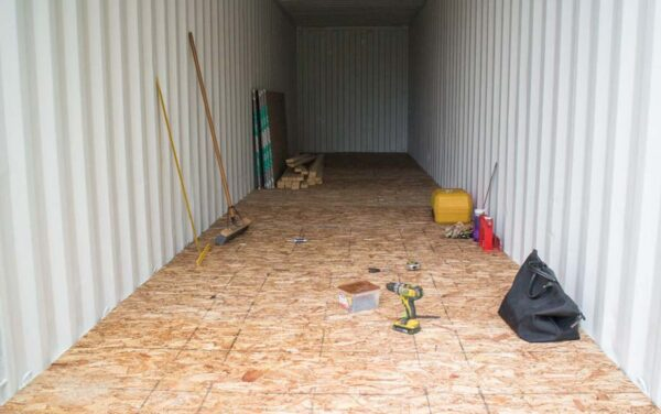 shipping container flooring options uk