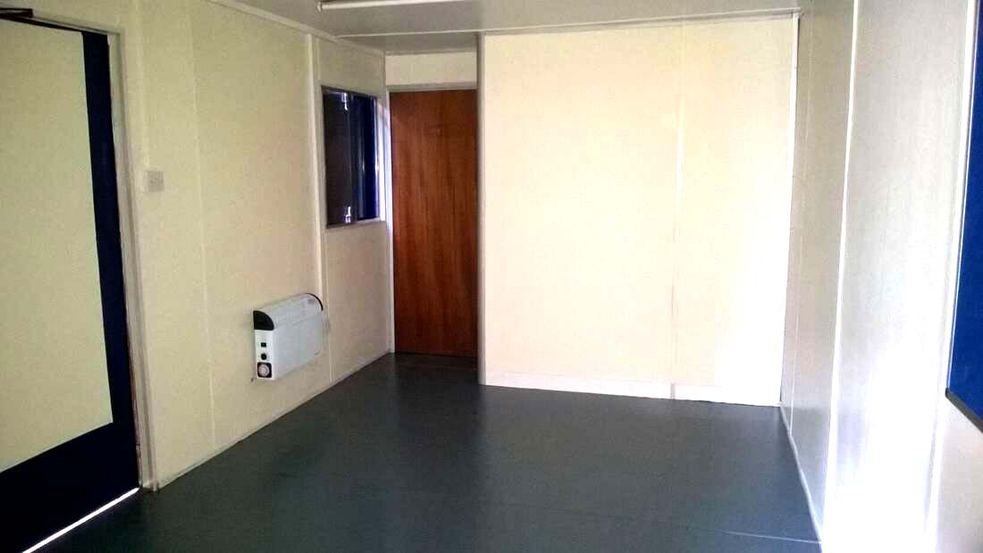 shipping container office conversion uk for sale