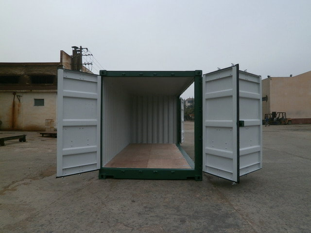 side loading containers for sale Edinburgh