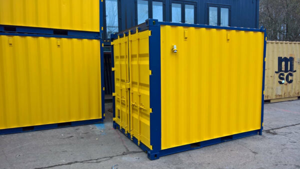 site workshop test lab bespoke design shipping container coventry