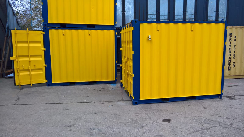 cube test lab container conversion coventry uk